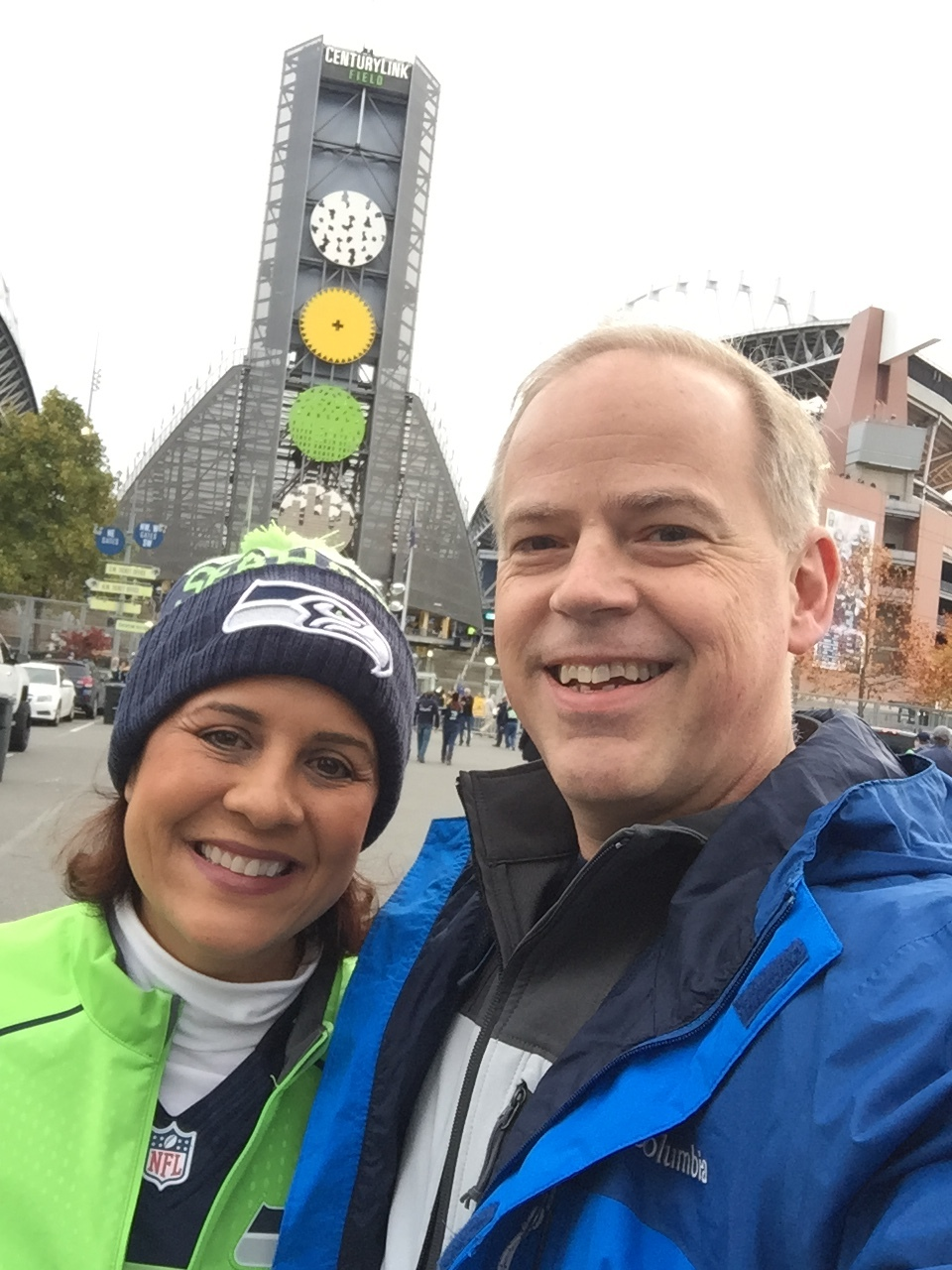 Game Day at Century Link - www.stampedwithaloha.com