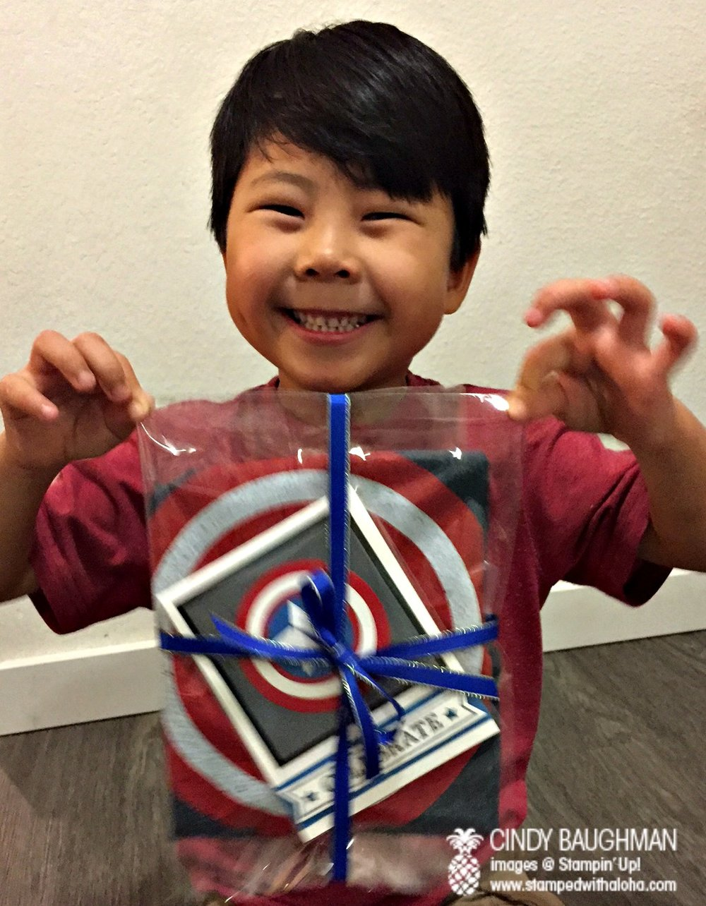 Birthday Boy - www.stampedwithaloha.com