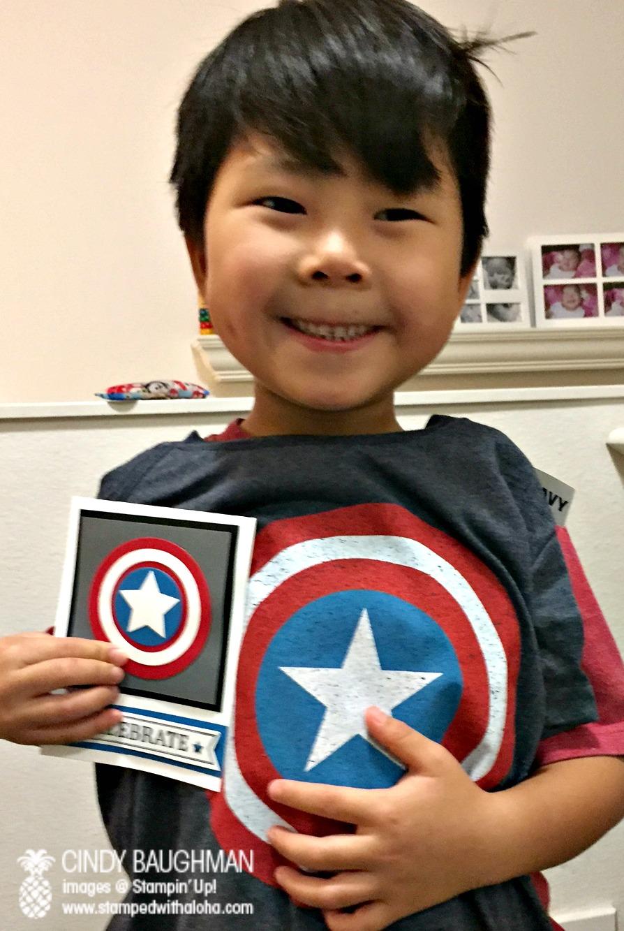 Birthday Boy Andrew - www.stampedwithaloha.com