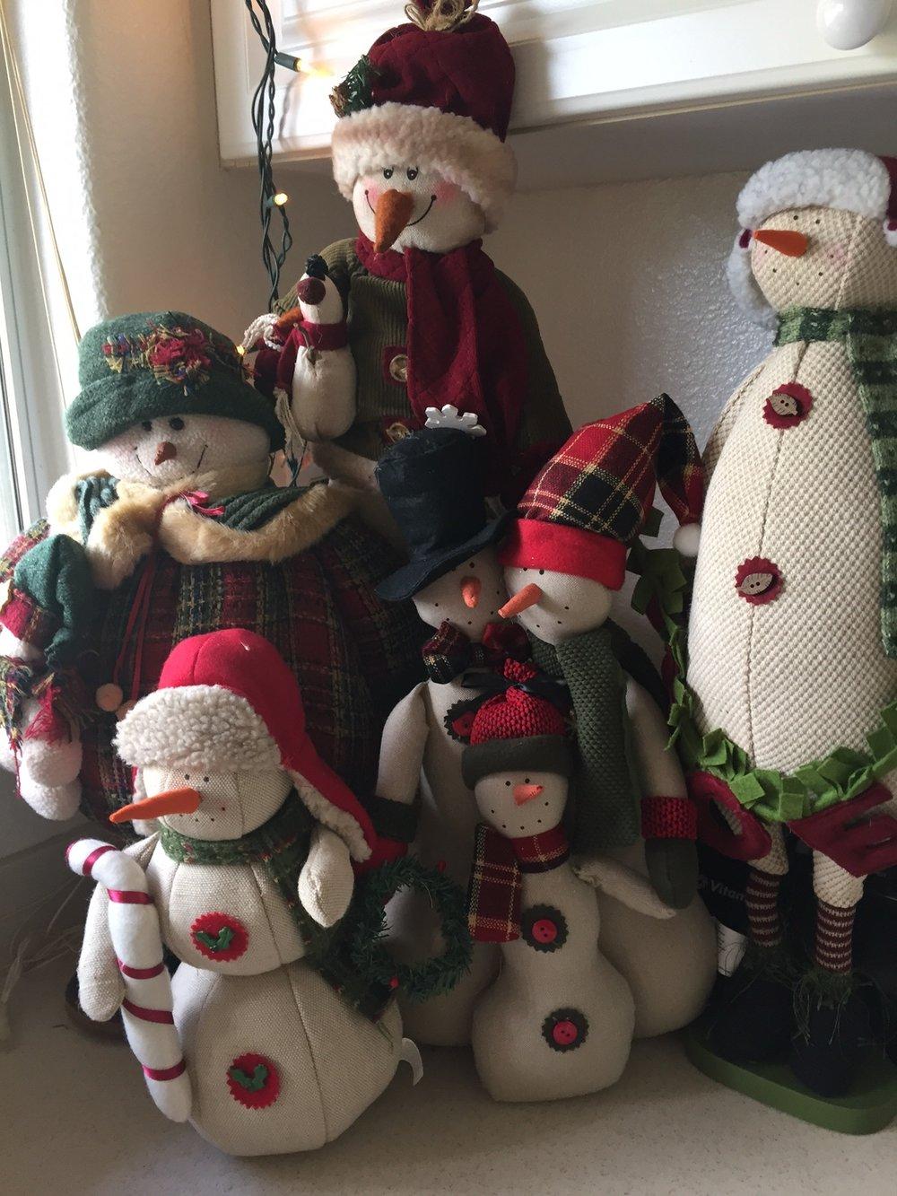 Snowman family - www.stampedwithaloha.com