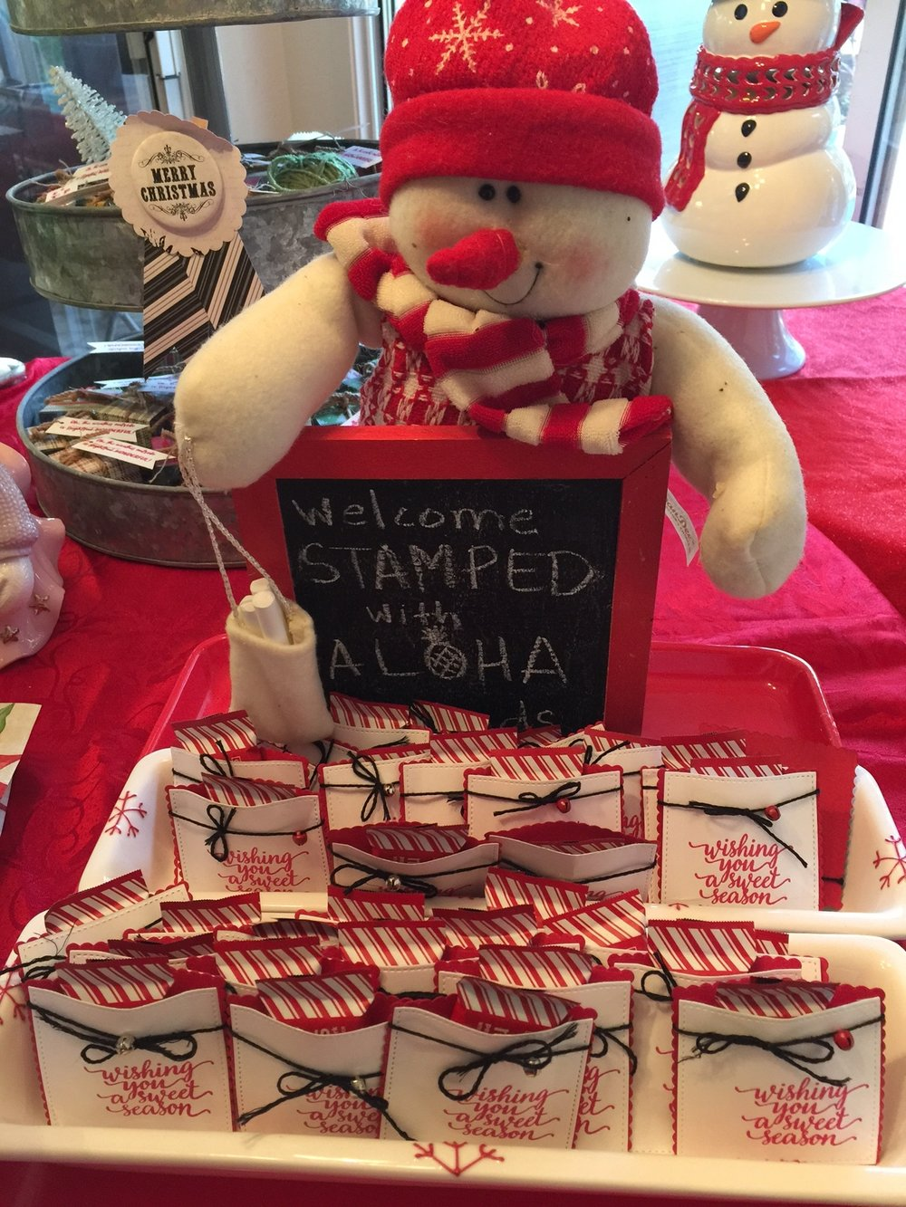 Peppermint Packets - www.stampedwithaloha.com