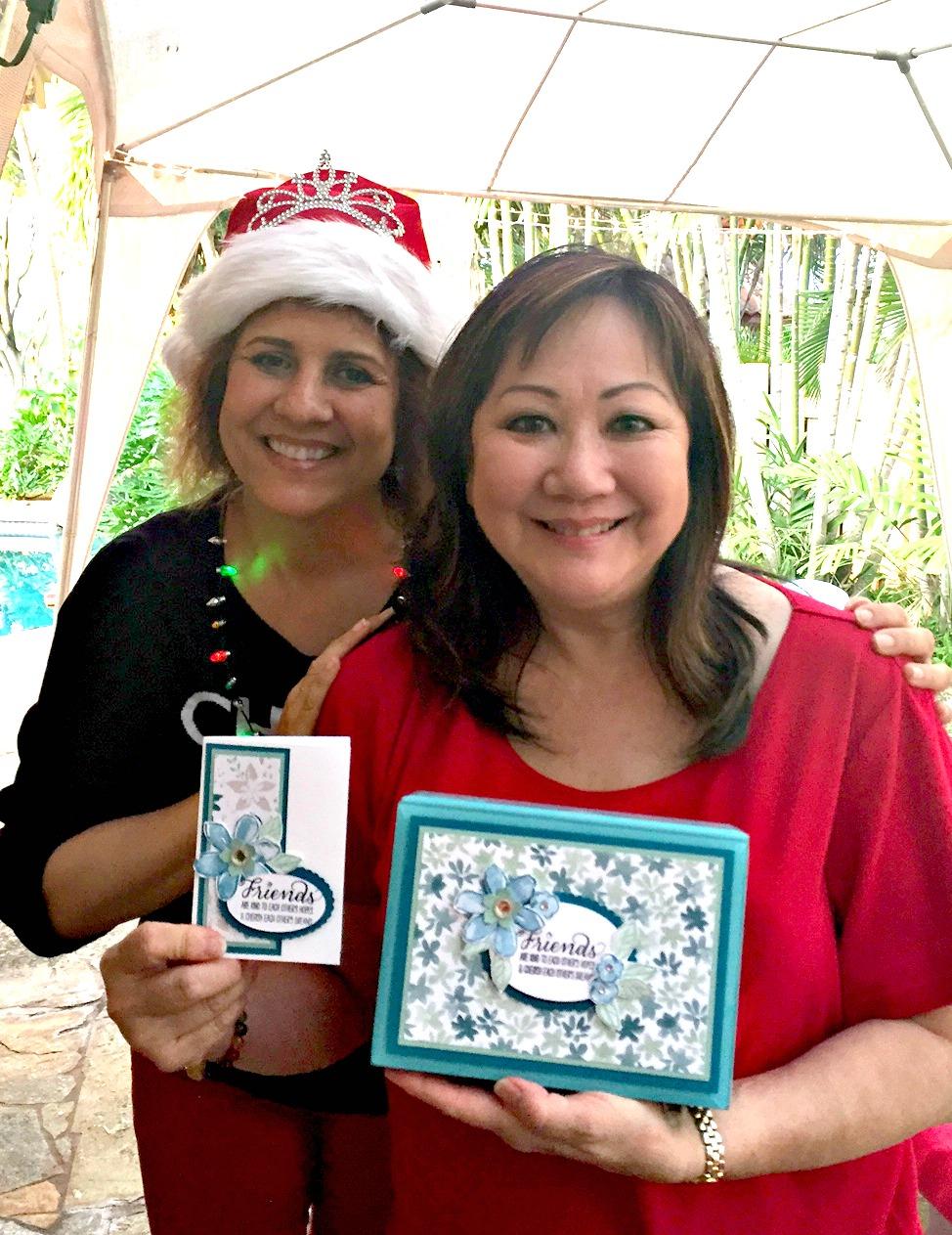 SWA Holiday Gift Exchange - www.stampedwithaloha.com