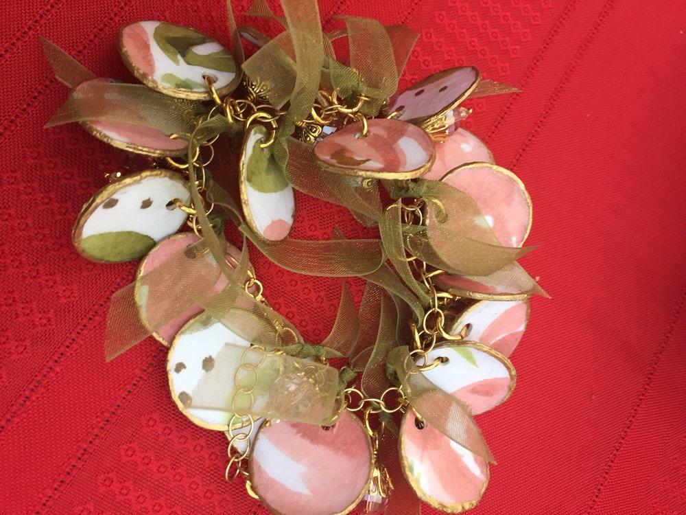 Stamped Bracelet by Roxanne - www.stampedwithaloha.com