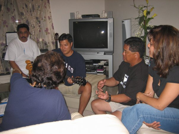 TC Campus Rehearsal at Nino's House - www.stampedwithaloha.com