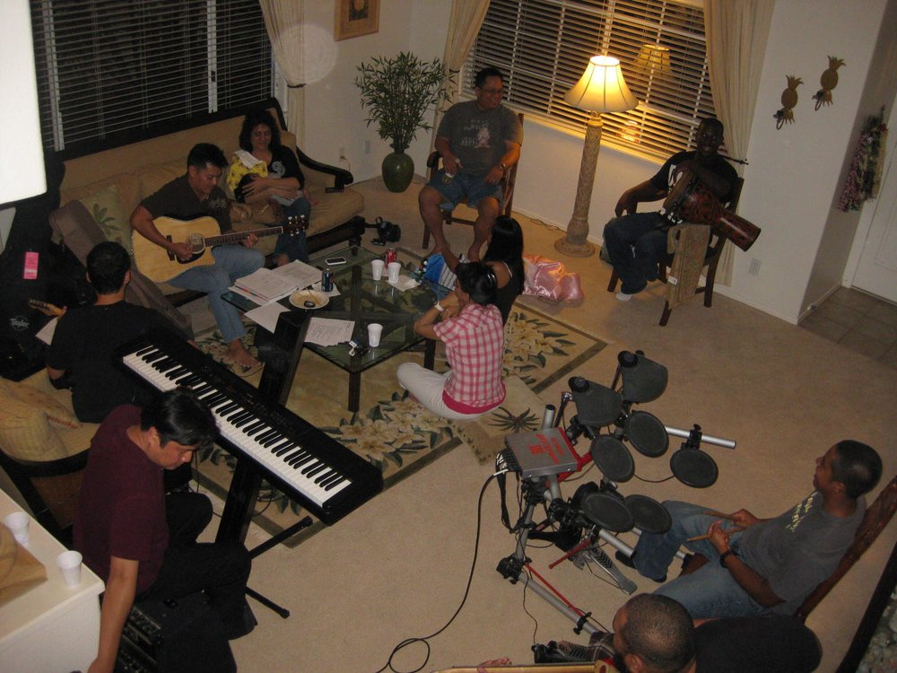 TC Rehearsal at my home - www.stampedwithaloha.com