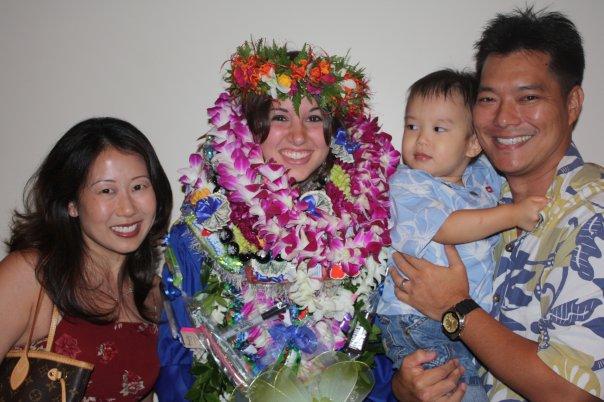 Jessica's CA graduation 2009
