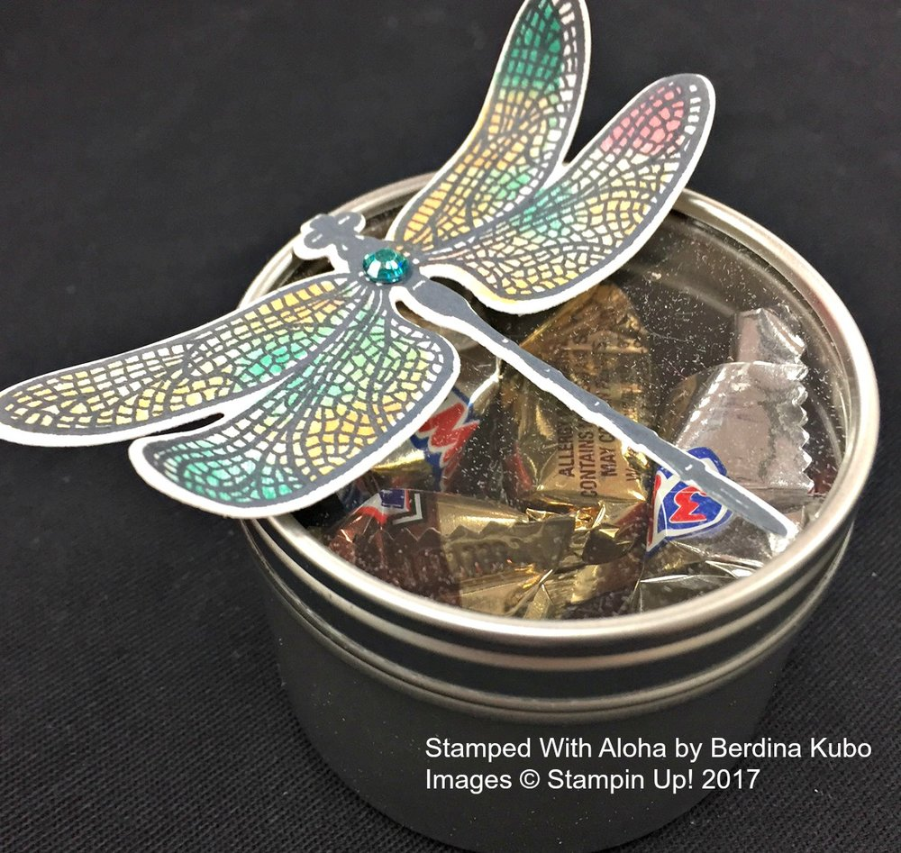 Dragonfly prize by Berd - www.stampedwithaloha.com