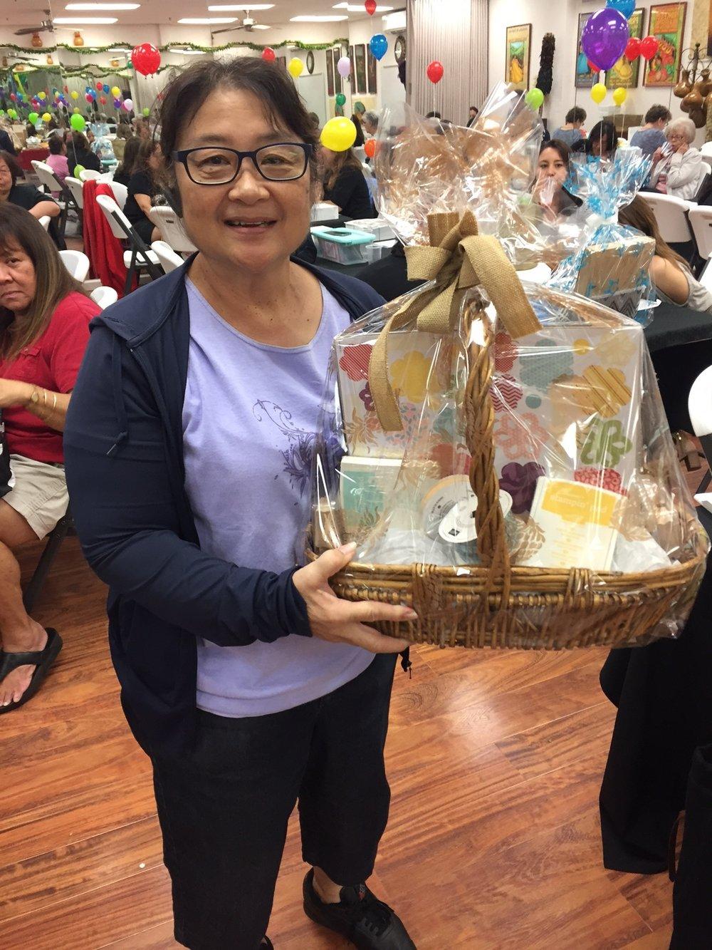Birthday Blossoms Basket - www.stampedwithaloha.com