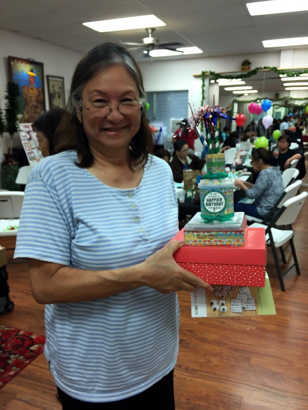 Birthday Cake Grand Prize - www.stampedwithaloha.com