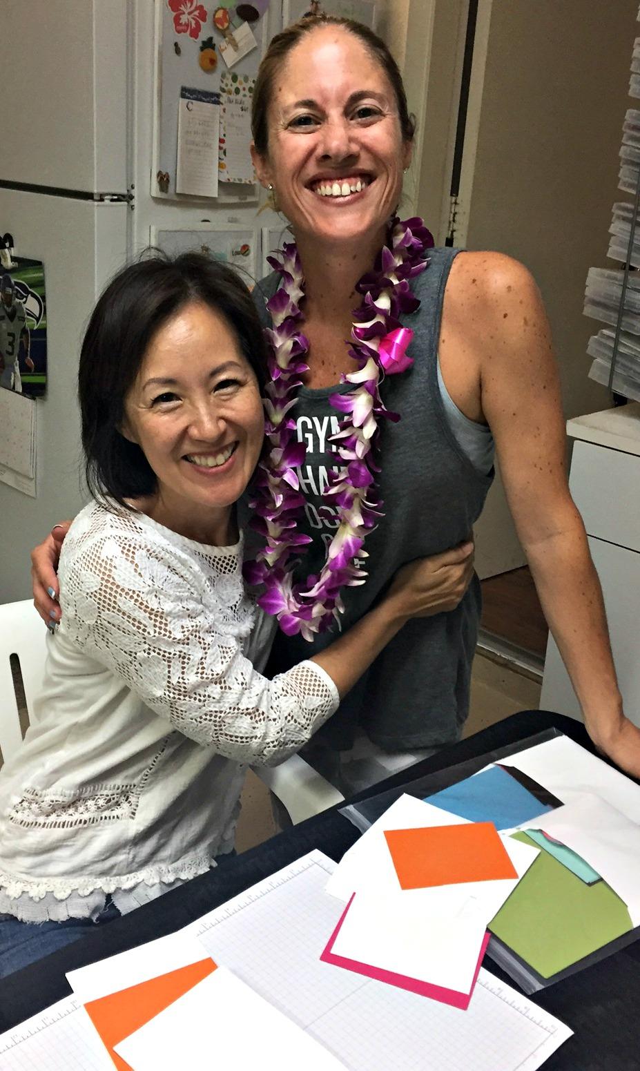 Pam and Jennifer - www.stampedwithaloha.com