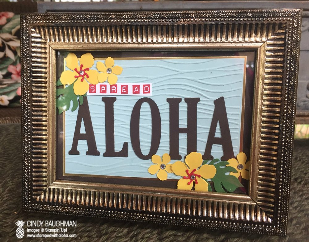 We Spread Aloha one stamp at a time! - www.stampedwithaloha.com