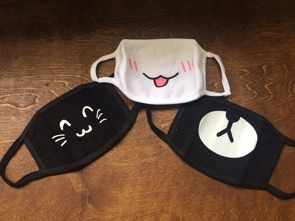 Cute Masks from Meg - www.stampedwithaloha.com