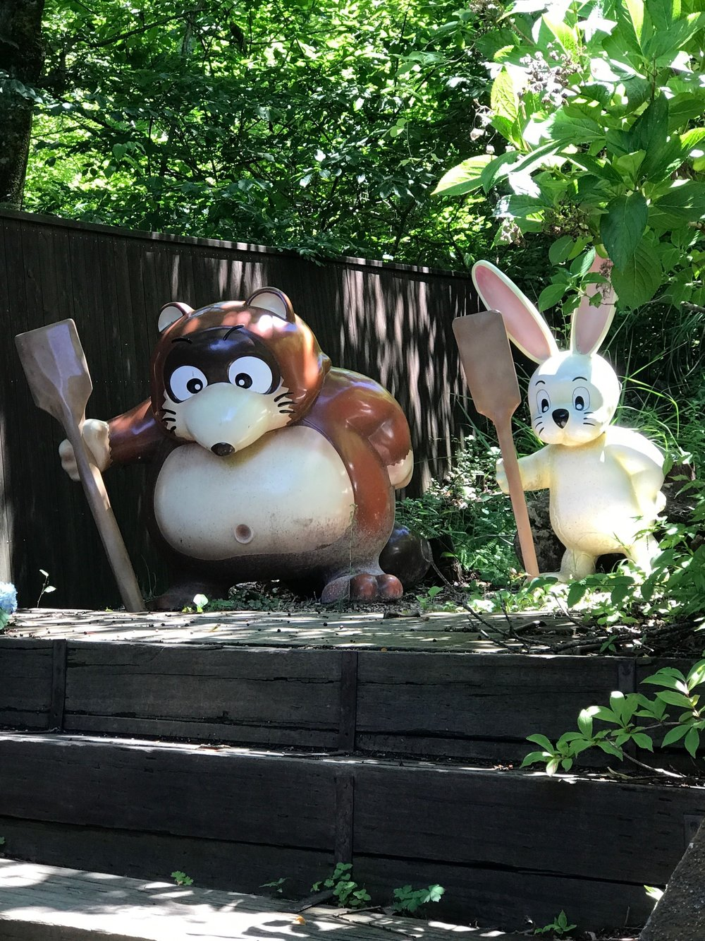 Tanuki and Rabbit