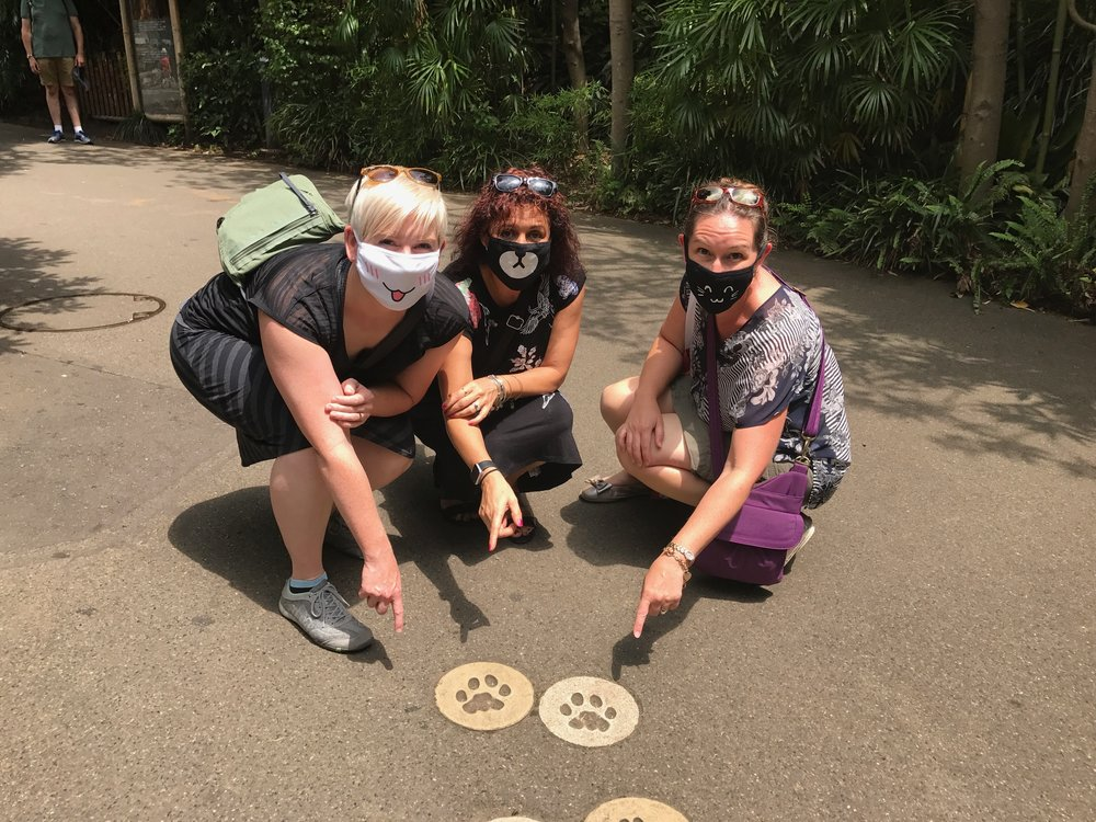Ueno Zoo with Meg and Lynsay