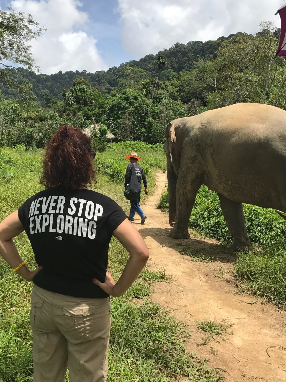 Exploring at the Phuket Elephant Sanctuary - www.stamepdwithaloha.com