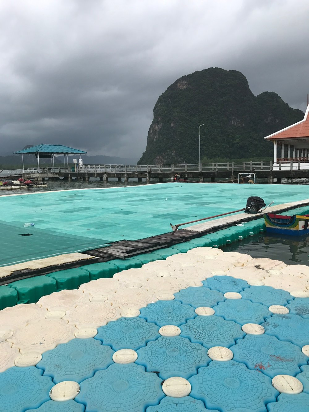 Floating Soccer Field -  Koh Panyee