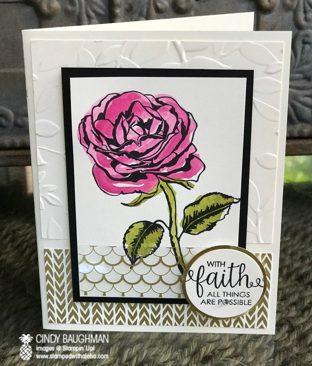 Graceful Garden Card