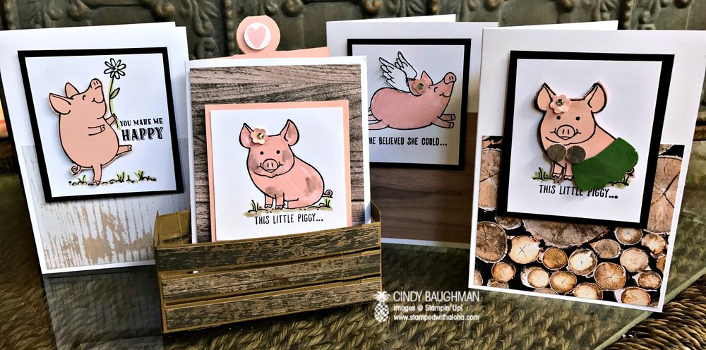 This Little Piggy Projects - www.stampedwithaloha.com