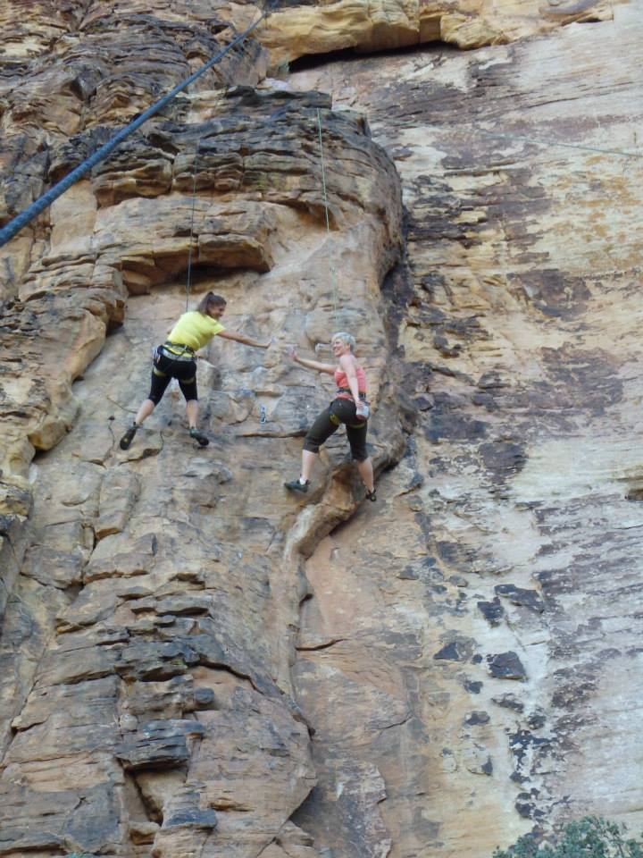 Rock Climbing in Utah with Lynsay - www.stampedwithaloha.com