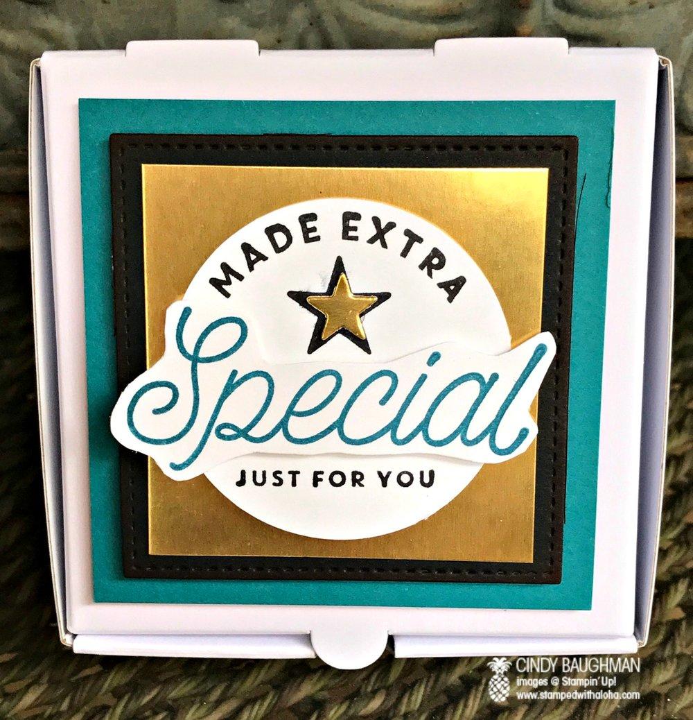 Extra Special Pizza Box - www.stampedwithaloha.com