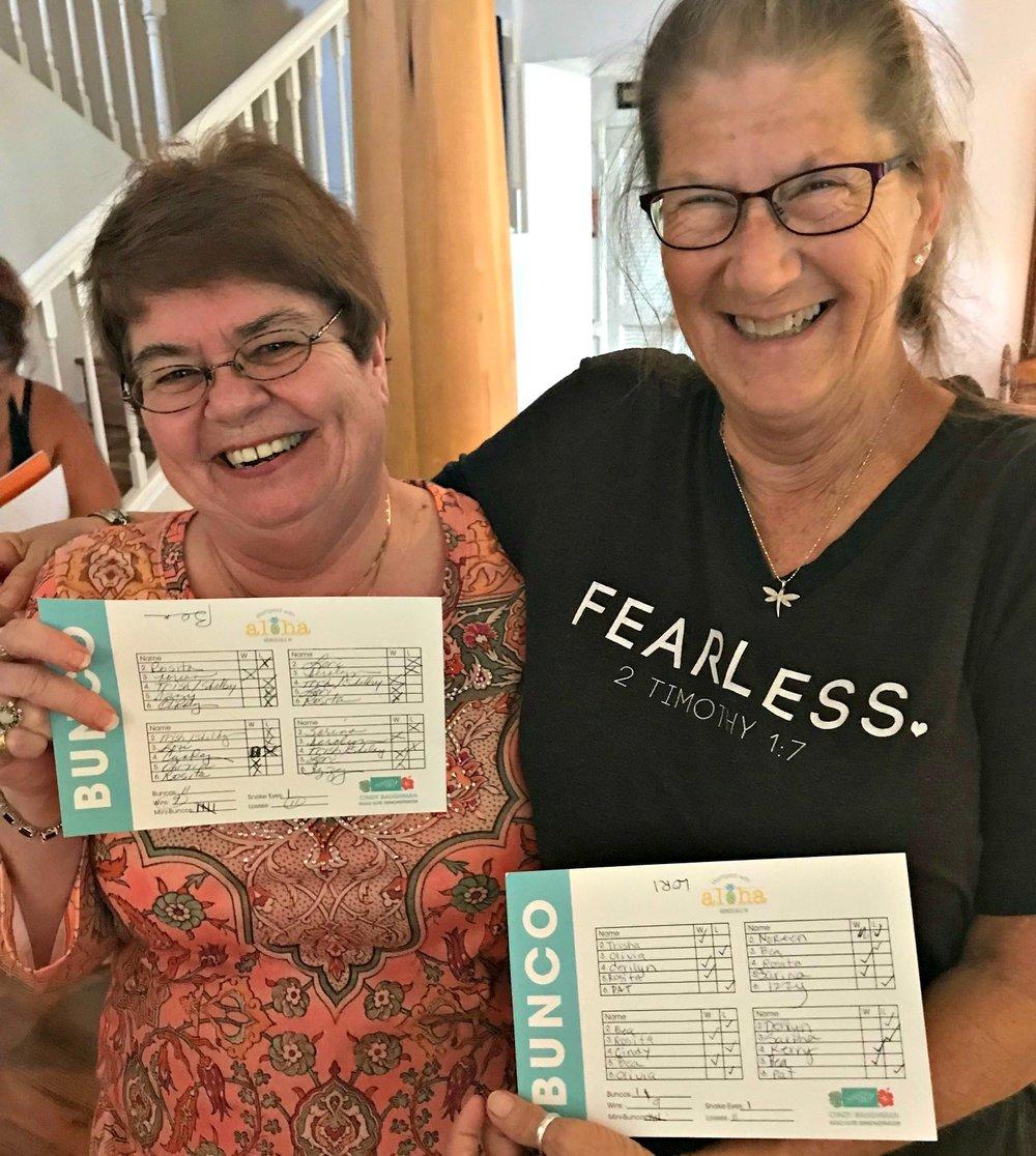 Bunco Twins - www.stampedwithaloha.com