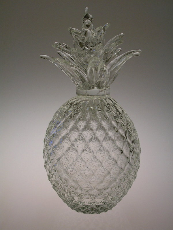 Glass Pineapple Gift