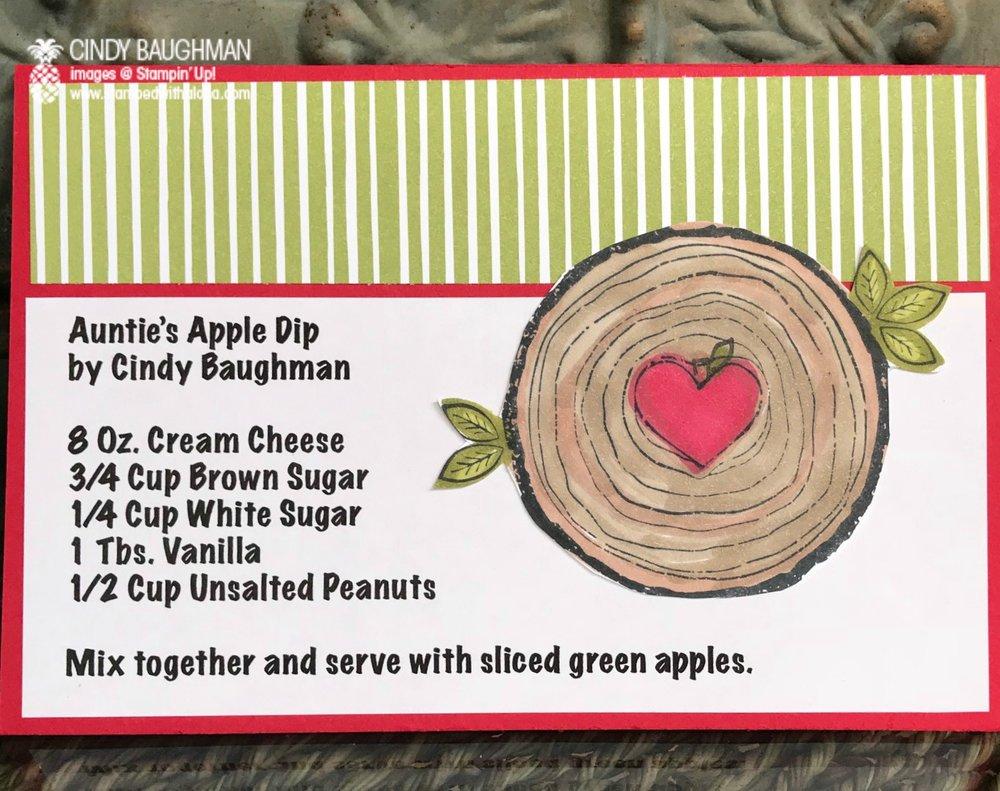 Apple Dip Recipe - www.stampedwithaloha.com
