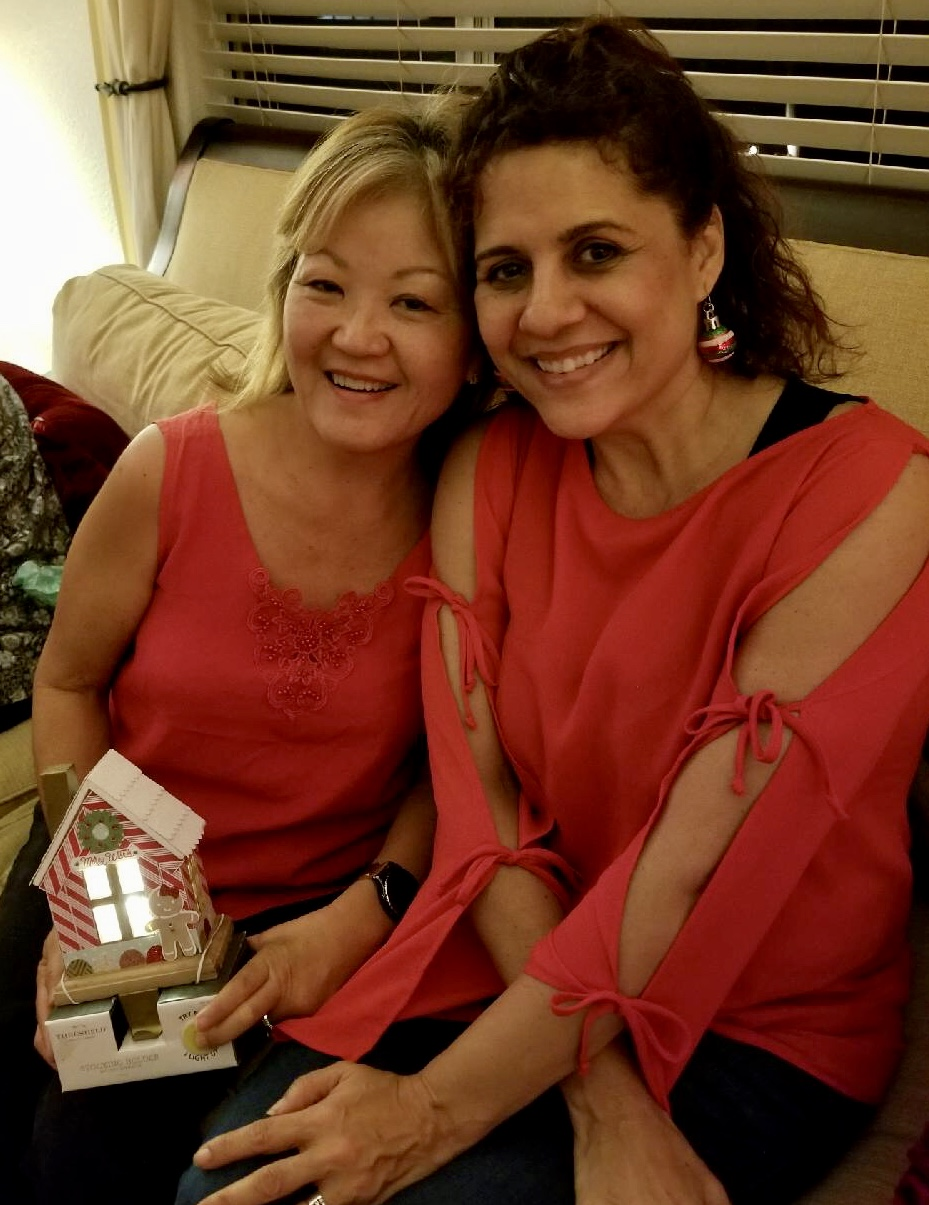 Leigh and Cindy