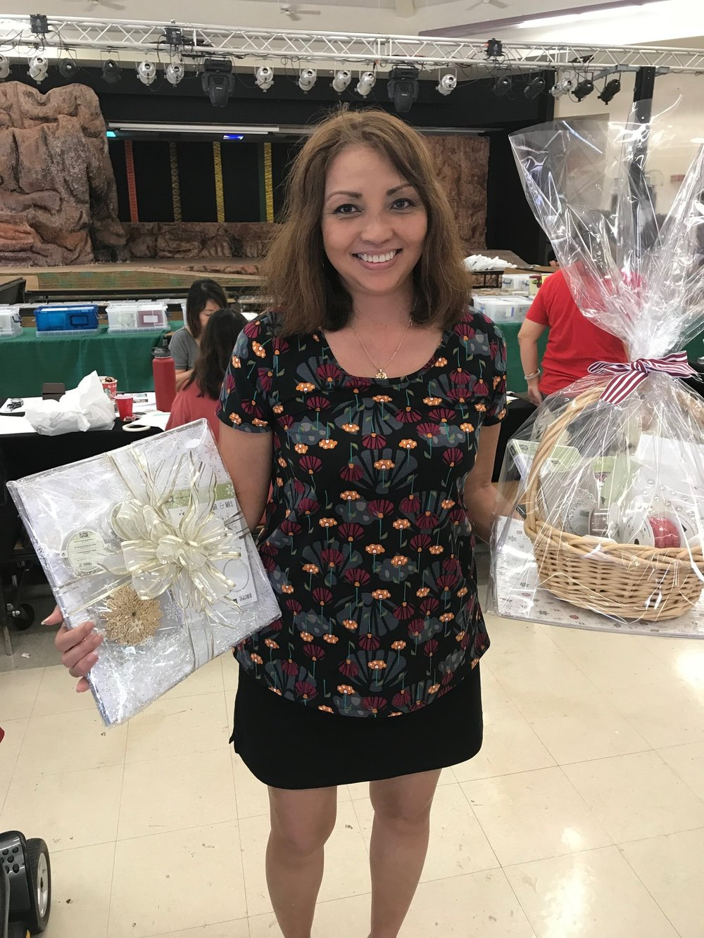 Cathy wins TWO prizes
