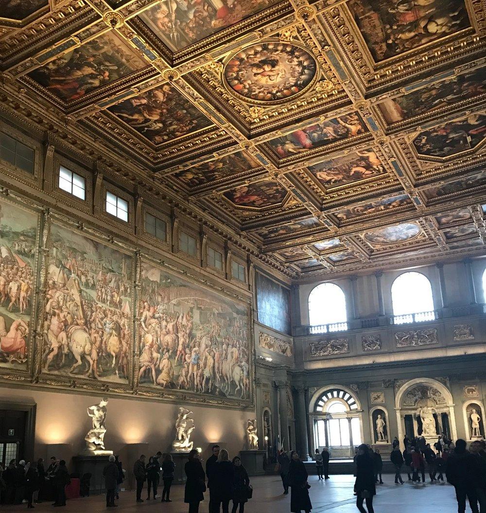 Uffizi Museum - Florence, Italy
