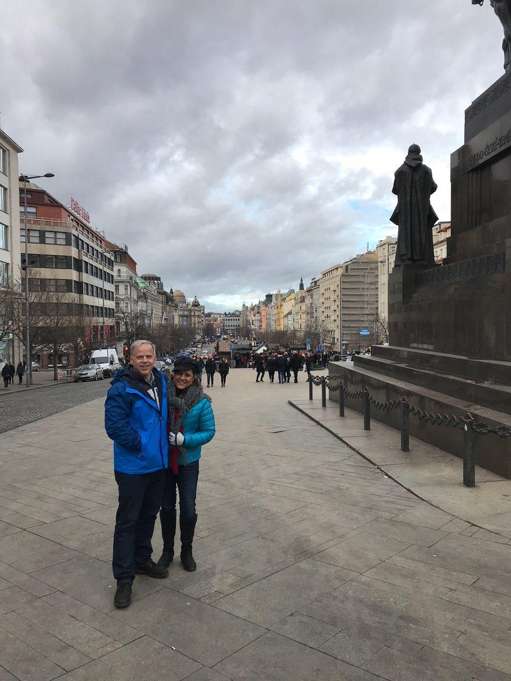 Wenceslas Square - Prauge