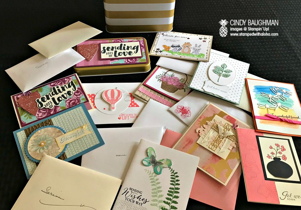 Cards for Sarina