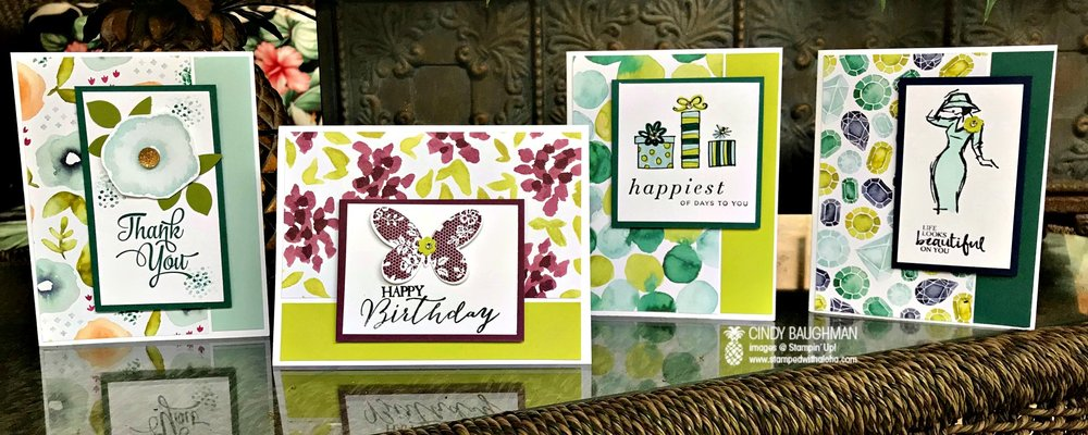 Naturally Eclectic Cards - www.stampedwithaloha.com