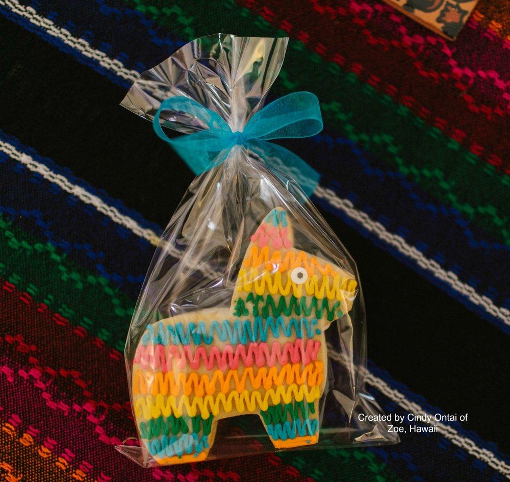 Piñata Cookies - www.stampedwithaloha.com