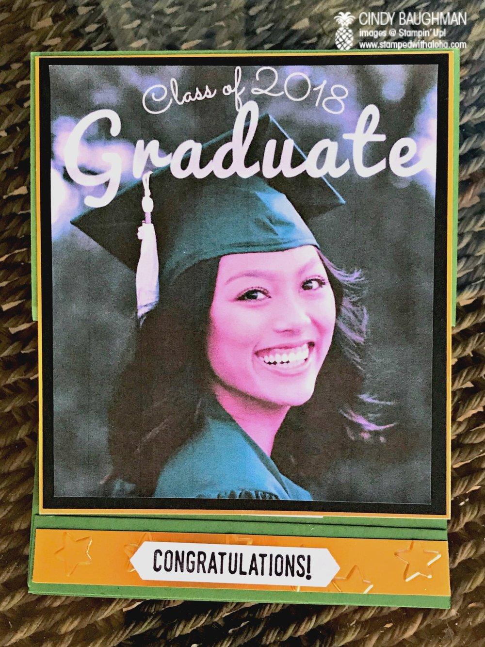 Joyce's Graduation Card