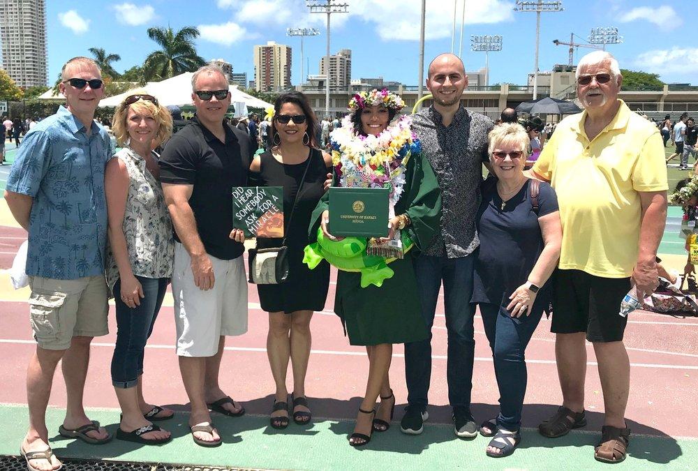 Baughman Family celebrates with Joyce