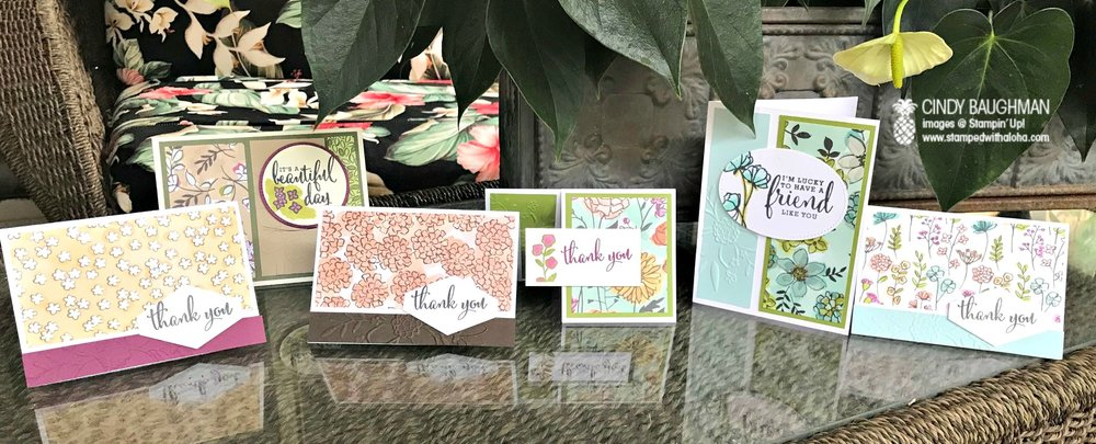Share What You Love Cards - www.stampedwithaloha.com