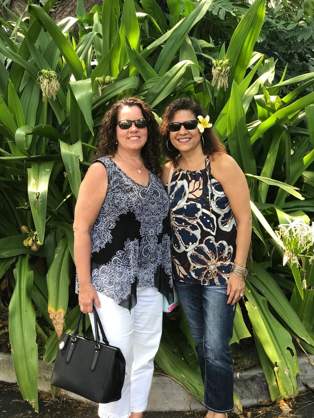 Jodi and Cindy in Maui
