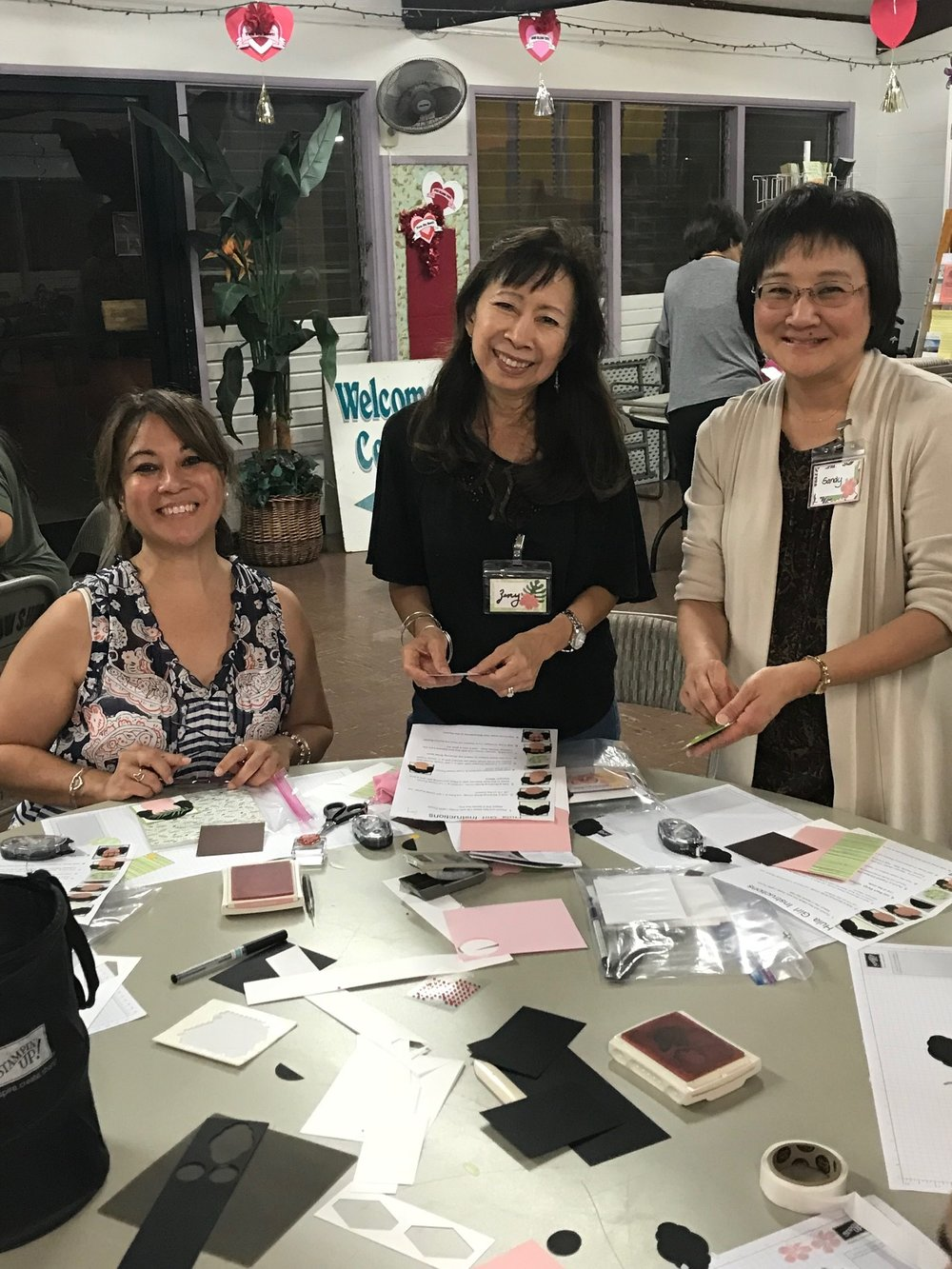 Happy Stampers at Inspiration Night