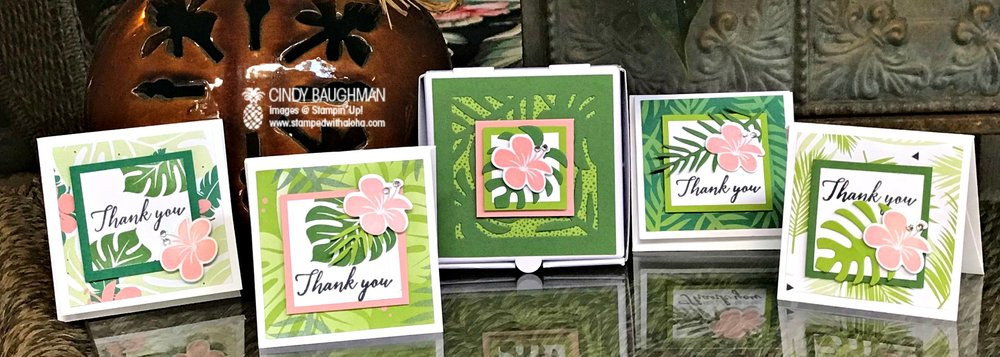 Tropical Escape Cards