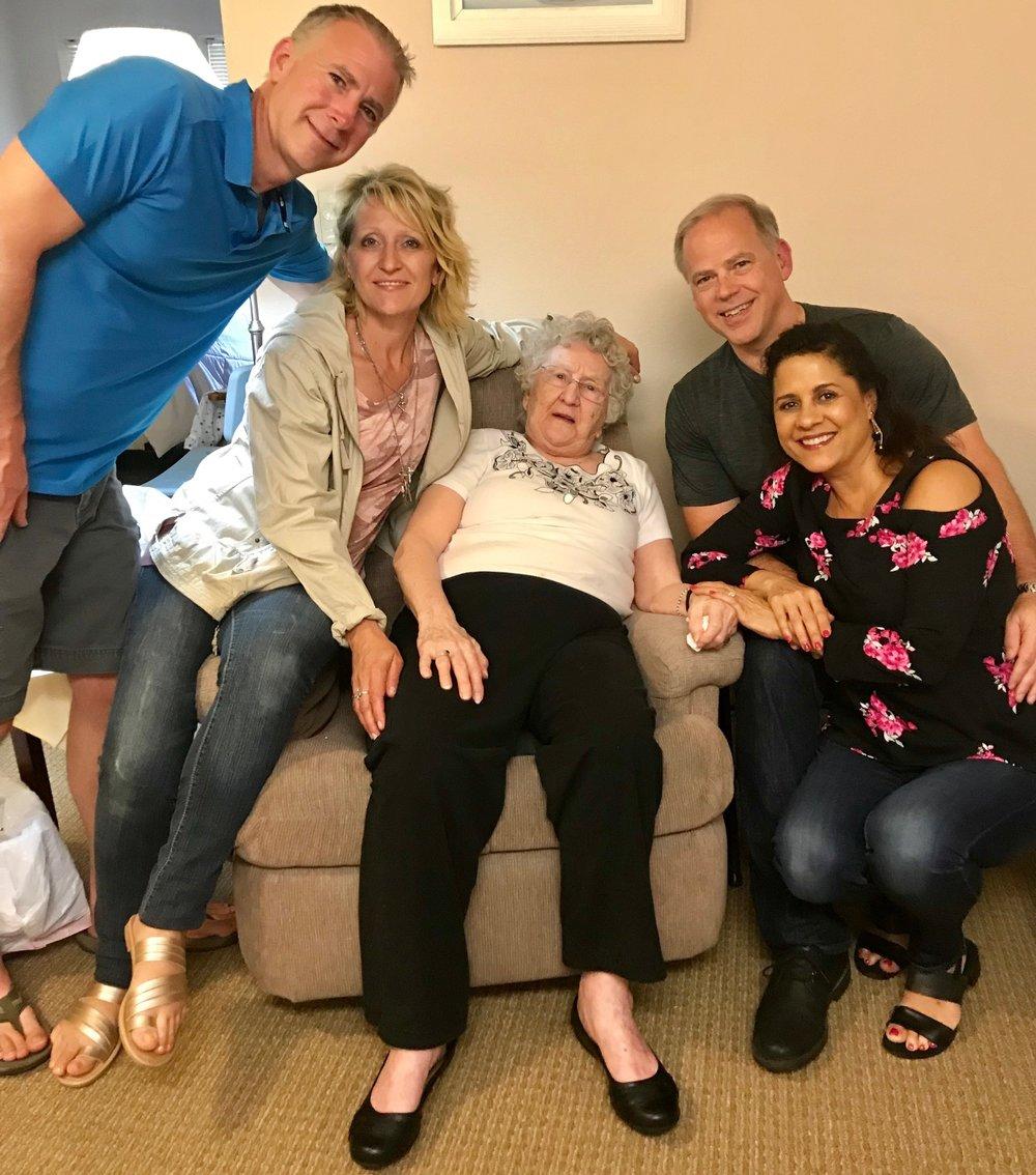 Visiting Grandma Carol