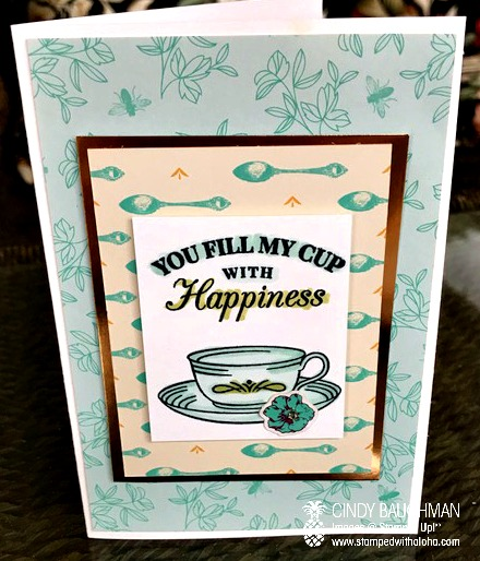 Tea Room Memory and More card