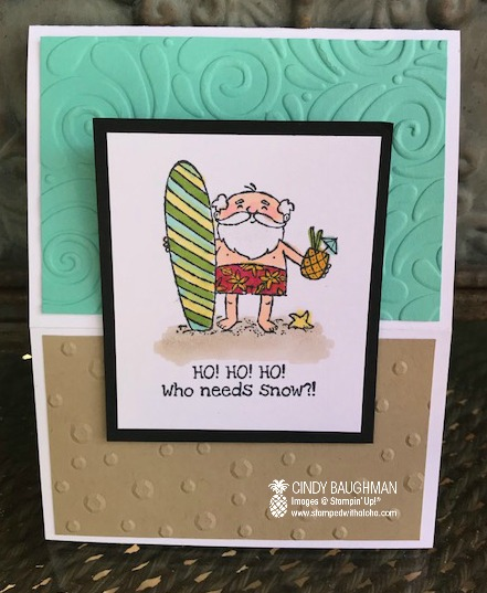 So Santa Card