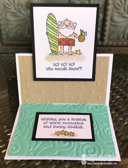 So Santa Pop Up Card
