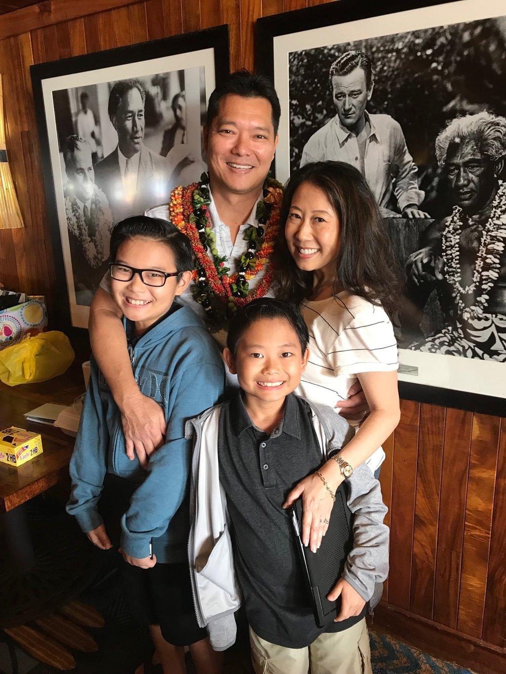 The Shimizu Family at Duke's