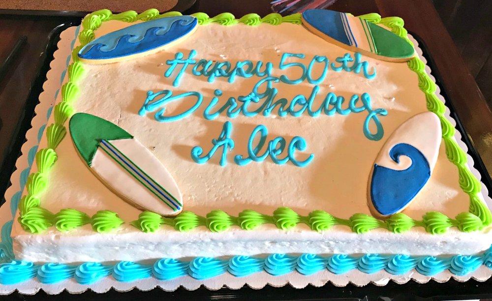 Alec's Surf Cake