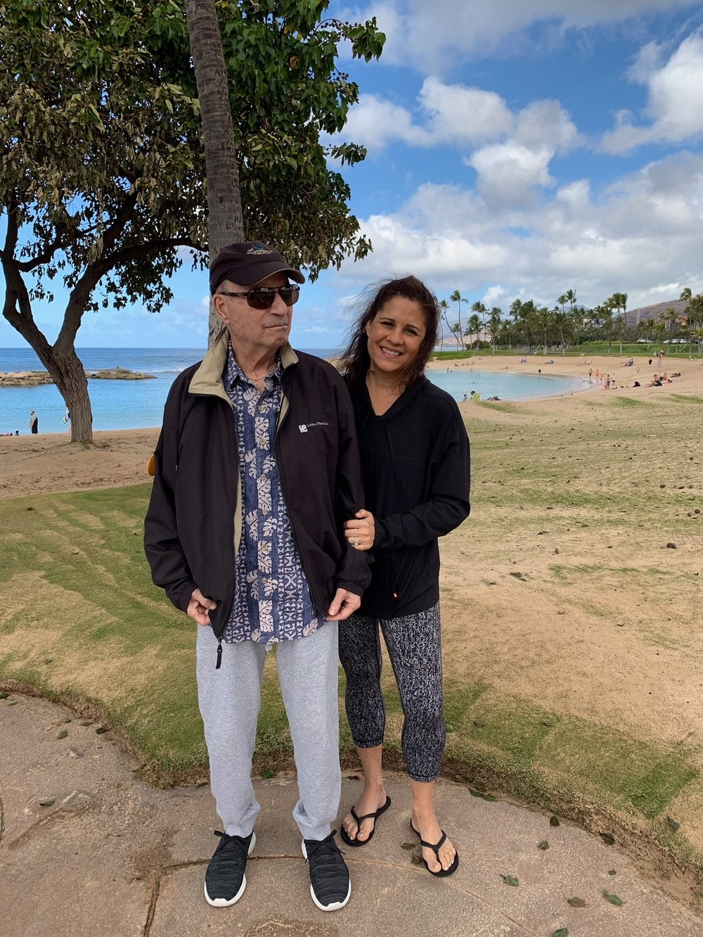 Dad and I at Koolina