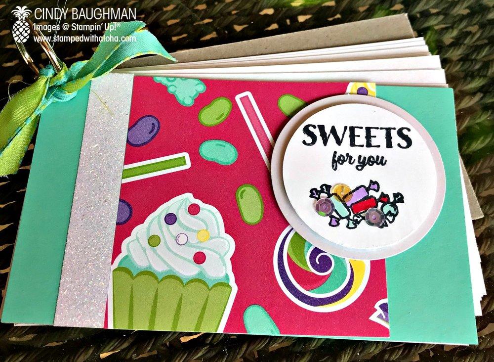 Sweet Celebration Recipe Book - stampedwithaloha.com