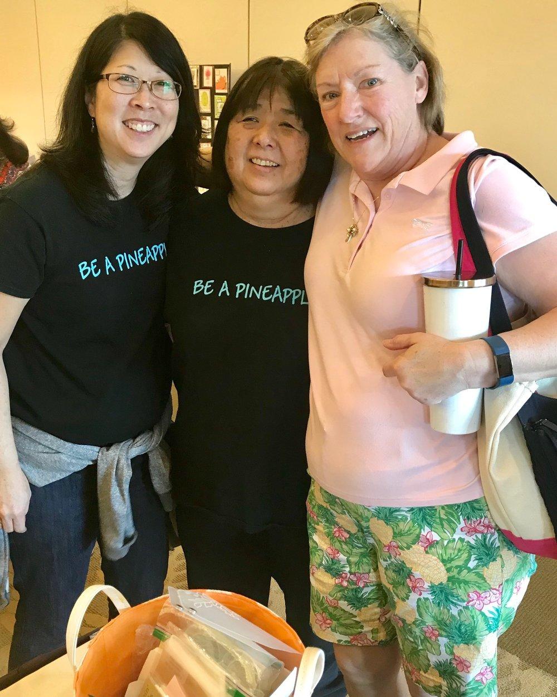 Jodi, Norine and Martha
