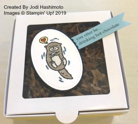 Jodi's Otter Hot Chocolate Box